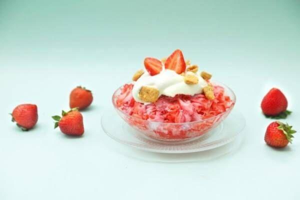 「純氷果」はじめます! ユーハイム神戸元町本店限定のフルーツの本来の味と存在感を引き出したかき氷