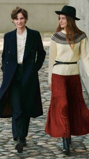 ユニクロ×イネス・ド・ラ・フレサンジュ2020年秋冬新作は、70'sファッションアイコンへのオマージュ