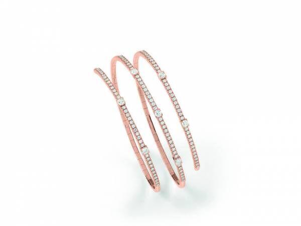 ブレスレット ¥1,200,000(税抜)ピンクゴールド、ダイヤモンド