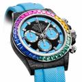 DIWのカスタムROLEXからベゼルにサファイアを使用した「Rainbow Collection」が登場