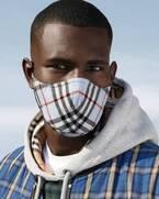 バーバリーがヴィンテージチェックのマスクの発売をスタート