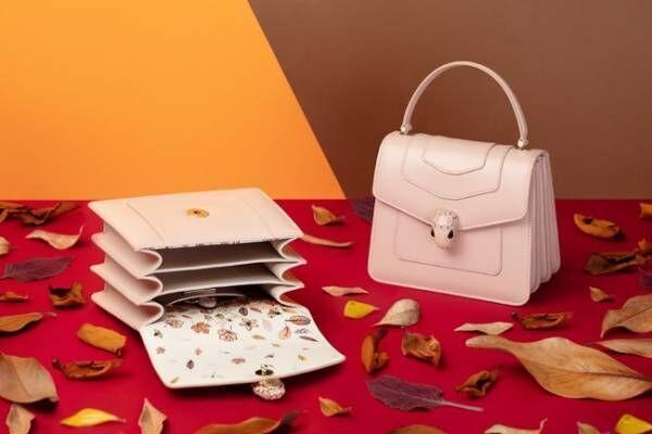 ブルガリから秋の紅葉をモチーフにした日本限定モデルのバッグが登場
