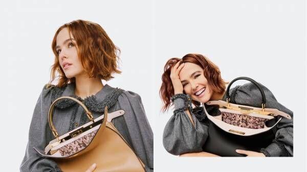ゾーイ・ドゥイッチと「ピーカブー」バッグが主役。フェンディが「#FendiPeekaboo」キャンペーンをローンチ