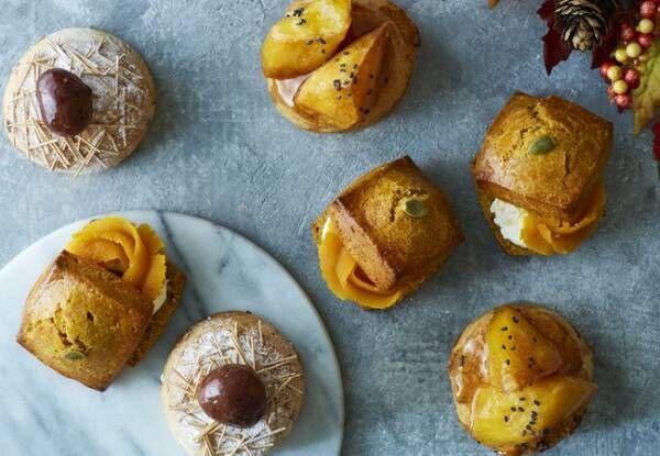 甘じょっぱい蜜がからむ「大学芋のスコーン」など、実りの秋ならではのベイカーズスコーンを新発売