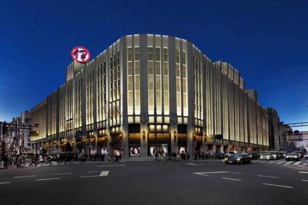 伊勢丹新宿店本館 35年ぶりの外壁修繕が完了。省エネにも配慮した照明デザインで時間や季節を演出