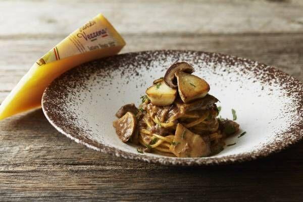 国産の茸とイタリア産ポルチーニ茸を堪能。アマン東京のイタリアンレストランで「マッシュルームフェア」を開催