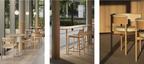 ブルーボトルコーヒー みなとみらいカフェ店内で使用のカリモクケーススタディのチェアを期間限定で発売