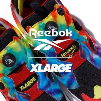 XLARGEとReebokが2016年以来のコラボレーションを発表。オリジナルのタイダイ柄を開発