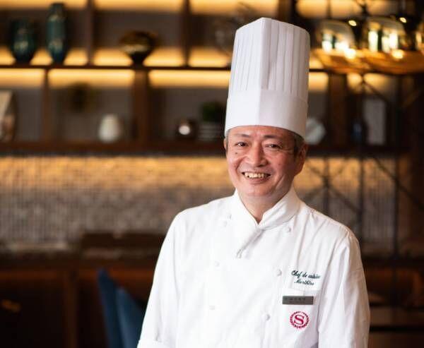 世界の洋菓子大会で多くの受賞歴をもつペストリーシェフ武藤 修司がプロデュース。横浜ベイシェラトンのクリスマスケーキ