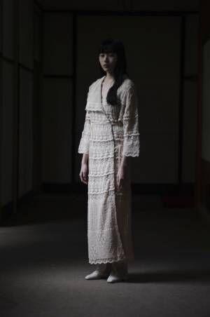 【ルック】Mame Kurogouchi 2021春夏コレクション