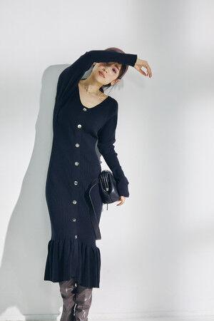 スナイデルからモデル・女優の泉里香が着こなす冬の新作コレクションを発売