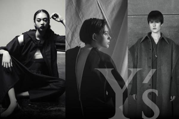 Y'sの枠を広げ多面的に展開するラインのみを表現する初めてのストア。「by Y's」のポップアップを伊勢丹新宿店で開催