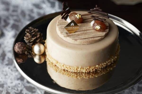 ホリデーシーズンに華を添える美しいケーキの数々。グランドニッコー東京 台場のクリスマスケーキ