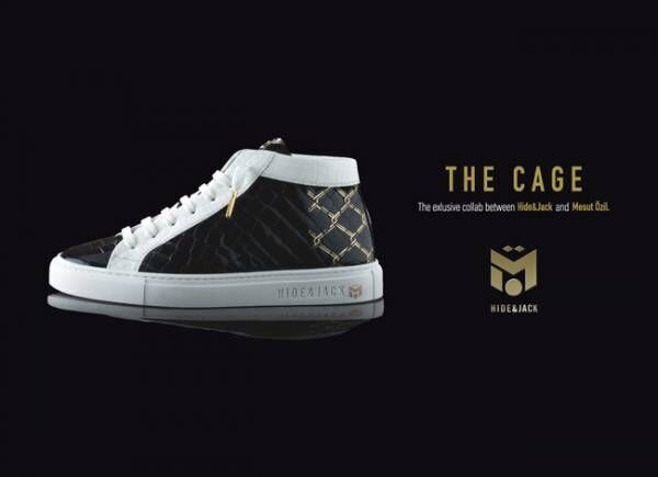 イタリアのスニーカーブランド「HIDE & JACK」が元ドイツサッカー代表エジルとのコラボスニーカー発売