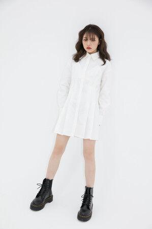大人気ファッションモデル「ちぃぽぽ」とatmos pinkが初のコラボ! フーディーなど計6型のアパレルを発売