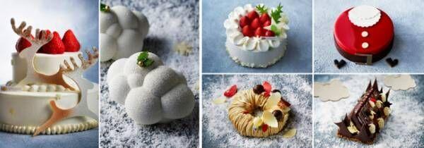 千疋屋総本店とのコラボケーキも。マンダリン オリエンタル 東京の「クリスマス&おせち コレクション」
