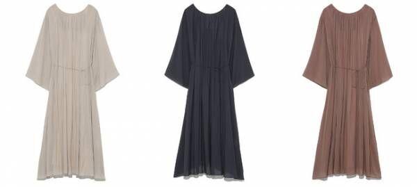 Dress ¥13,500+tax(BEG・GRY・PNK)