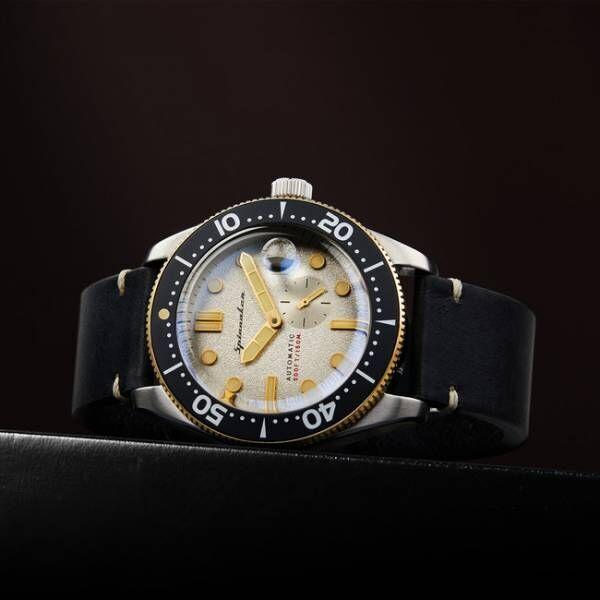 イタリア発の腕時計スピニカーからレトロ顔の高スペック機械式時計「クロフト」が登場