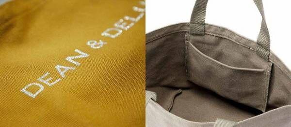 シルバーラメのロゴ&内ポケット付き