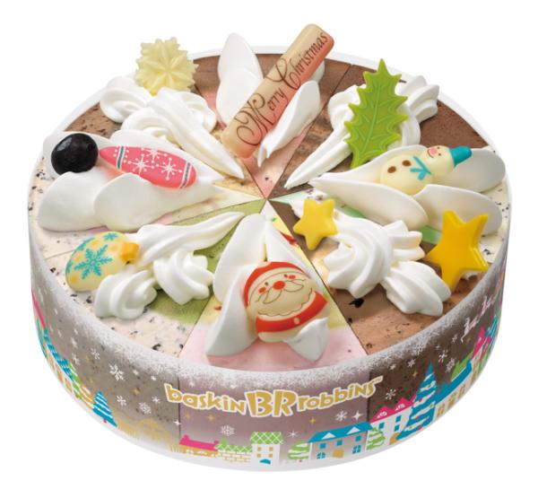 アイスクリーム専門店ならでは。サーティワンのクリスマス アイスクリームケーキ