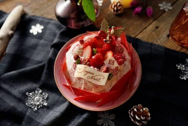 セバスチャン・ブイエのこだわりと技術がたっぷり詰まったクリスマスケーキ5種