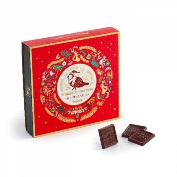 キャラクター達が愛らしい。ザ・ペニンシュラのチョコレートのアドベントカレンダー