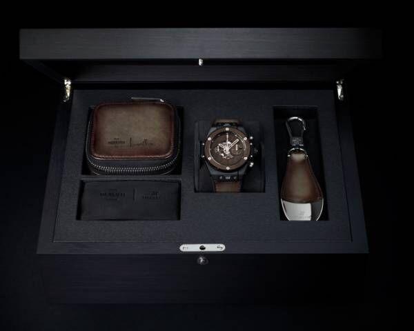 Big Bang Unico Berluti Cold Brown with watch box