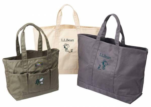 L.L.BeanとピーナッツのコラボトートバッグがPLAZAのECサイトで予約販売受付開始
