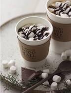 チョコレート×とろけるマシュマロ。キハチフードホール コーヒーベイクスに冬にぴったりの新作デザートドリンクが登場
