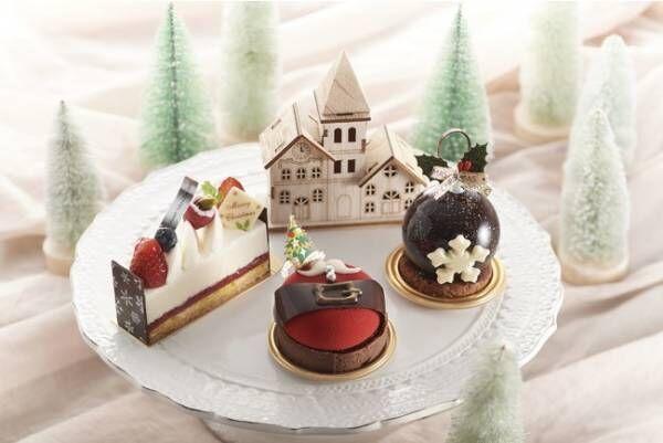 キュートなスイーツが、おうちクリスマスを華やかに彩る。シェラトン・グランデ・トーキョーベイの12月限定スイーツ