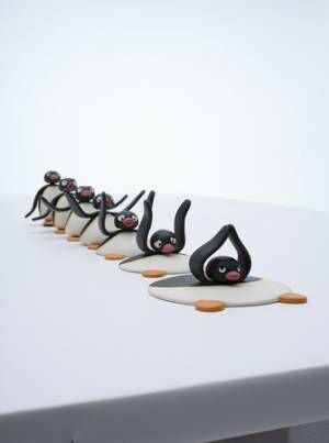 ピングーの魅力がすべて詰まった本格的な展覧会「ピングー展」が大丸梅田店で開催