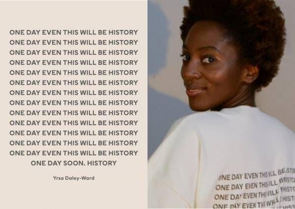 強くてパワフルな詩にインスパイア。H&Mが詩人のイルサ・デイリー・ワードとコラボしたラウンジウエアを発売