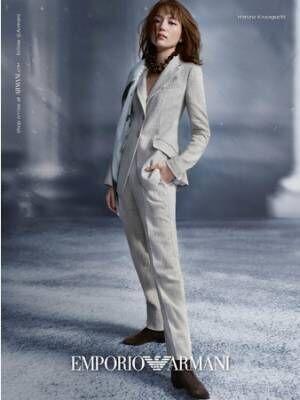 エンポリオ アルマーニが2021 春夏広告キャンペーンビジュアルを公開。川口春奈が「強く、自由で、しなやかな女性像」を表現