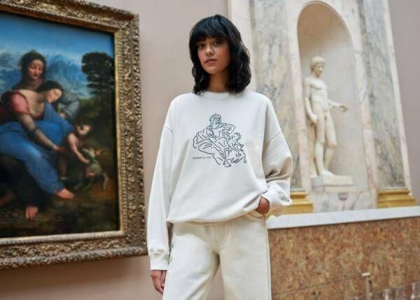 ユニクロUT「ルーヴル美術館コレクション」第1弾、「モナ・リザ」をはじめとする名作をモチーフに