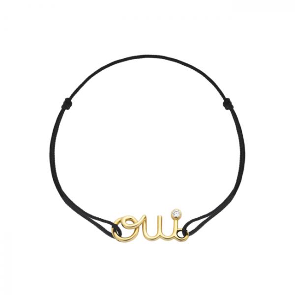 ディオール ジュエリーの人気コレクション「Oui」からコードタイプのブレスレットが初登場