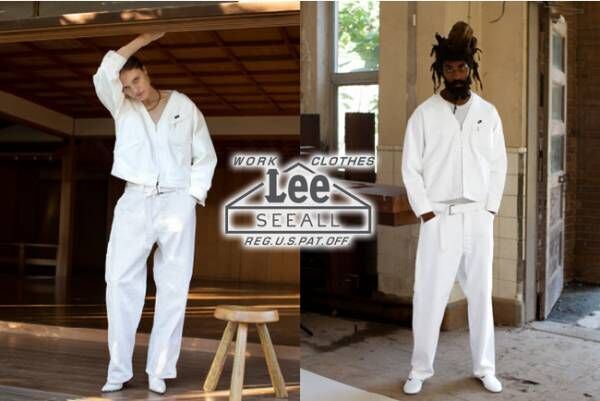 Leeの名品をSEEALLが現代的にアップデート。アーバンリサーチ別注のワークウエア発売