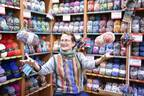 今年も松屋銀座にニットワールドが出現! 「~しあわせを編む~マルティナさんと魔法の毛糸フェア」開催。