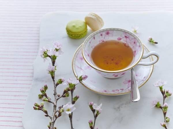 おうちでお花見気分。ウェッジウッドの「スプリングブロッサム」で桜アフタヌーンティーを楽しむ