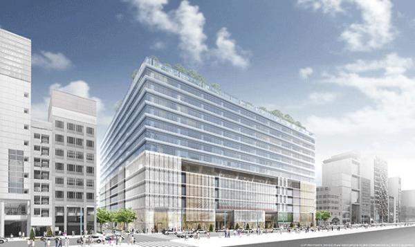 松阪屋銀座店跡地に、エリア最大級の商業施設が誕生