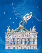コラージュで夢物語を描く、イラストレーター長谷川洋子の個展 - レースや着物生地を用いて