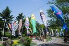 東京ミッドタウンのGWイベント「オープン ザ パーク」新緑の下、読書&ヨガ、そしてハイボールを