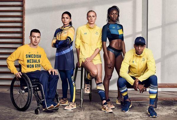 H&M、リオ五輪・スウェーデンチームの公式ウェアをデザイン
