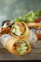 スターバックスの新サラダラップ3種 - 野菜を一気に12品目摂れるメニューも
