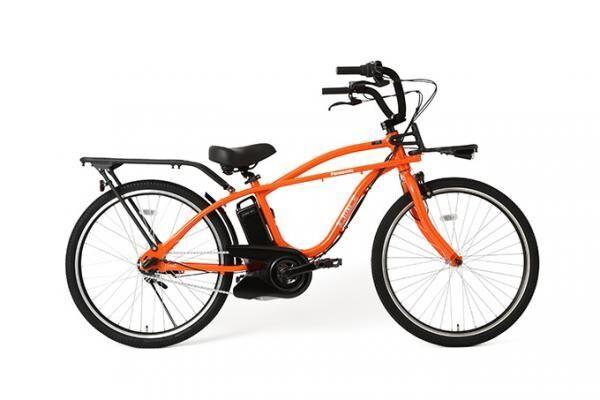 ビームスとパナソニック、共同開発の電動アシスト自転車「BP02」- オレンジ・ホワイトの2色