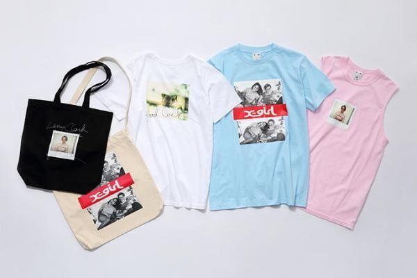 X-girl×ラリー・クラーク映画『KIDS』、劇中のシーンをプリントしたTシャツやトートバッグ