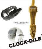 """カバン ド ズッカ ウオッチの""""ワニ時計""""が「CLOCK-DILE」として復活、各600本限定で発売"""