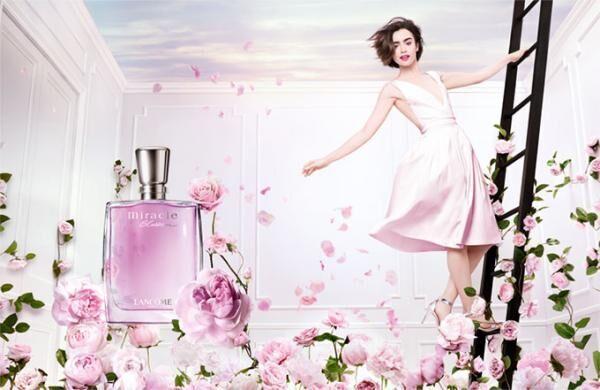 ランコムの人気香水「ミ・ラ・ク」から新作「ミ・ラ・クブラッサム」バラのつぼみが優雅に舞う