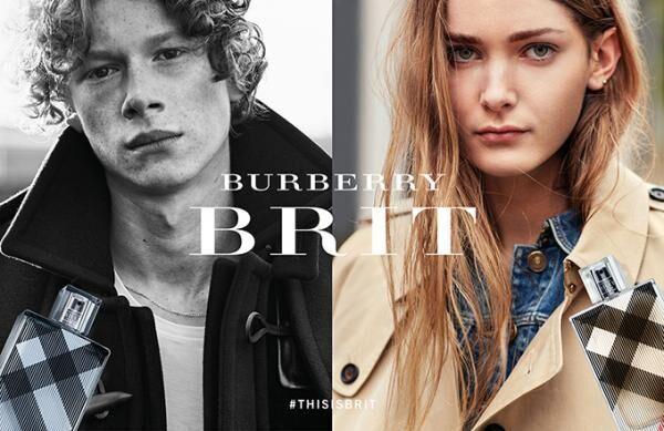 「バーバリー ブリット」の新ビジュアル公開 - ベッカム夫妻の長男ブルックリンがディレクション