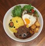 リラックマとタワーレコードカフェがコラボ!東京&大阪でリラックマ茶屋の名物「だんごカツ丼」