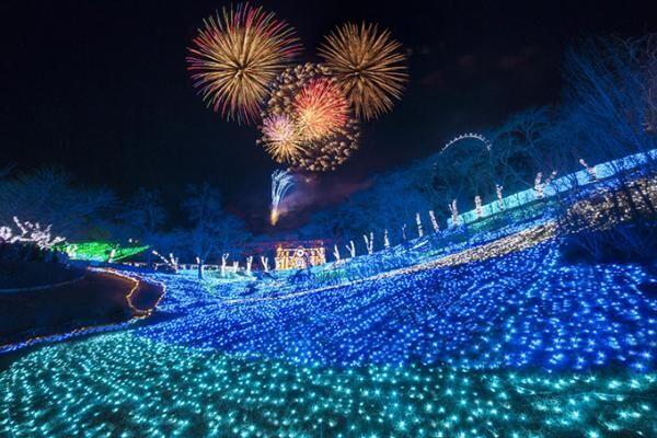 「さがみ湖納涼イルミリオン」開催 - 打ち上げ花火&300万球のイルミネーション